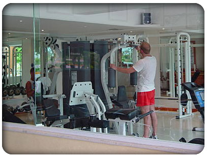 enjoy the gym at the gran porto real hotel